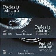Série audioknih Pasedát odstínů za výhodnou cenu