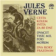 Cesta kolem světa za 80 dní, Dvacet tisíc mil pod mořem a Dva roky prázdnin - Jules Verne