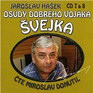Osudy dobrého vojáka Švejka CD 7 & 8 - Jaroslav Hašek