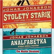 Stoletý stařík + Analfabetka za výhodnou cenu [Audioknihy] - Jonas Jonasson