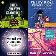 Balíček audioknih pro prarodiče za výhodnou cenu - Agatha Christie, Iva Procházková, Peter Mayle, Vlastimil Vondruška