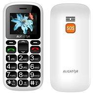 Aligator A321 Senior White + Desk Charger - Mobile Phone