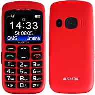 Aligator A670 Senior Red + Charging Stand