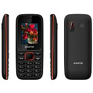 Aligator D200 Dual SIM Black/Red - Mobile Phone
