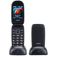 Aligator V400 Senior černo-červený+ stolní nabíječka - Mobilní telefon