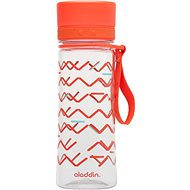 ALADDIN Water bottle AVEO 350ml red with imprint - Drinking bottle