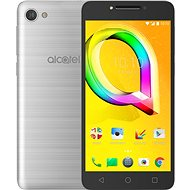 ALCATEL A5 LED Metallic Silver - Mobilný telefón