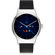 TCL MOVETIME Smartwatch TPU Silver/Black - Smartwatch