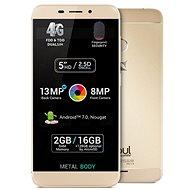 Allview X4 Soul Mini Gold - Mobilní telefon
