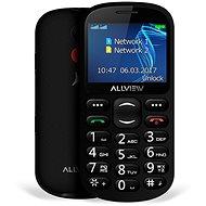 Allview D1 Senior Fekete - Mobiltelefon