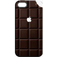 """MojePouzdro """"Čokoláda"""" + ochranné sklo pro iPhone 6/6S - Zadní kryt"""