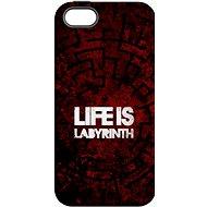 """MojePouzdro """"Život je labyrint"""" + ochranné sklo pro iPhone 6/6S - Ochranný kryt"""
