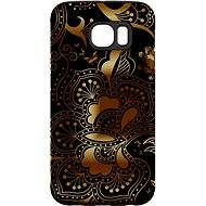 """MojePouzdro """"gold-black"""" + protective glasses for Samsung Galaxy S6"""