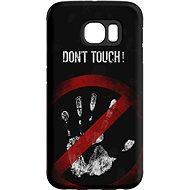 "MojePouzdro ""Nesahat !"" + ochranné sklo pro Samsung Galaxy S6"