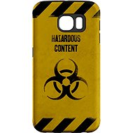 """MojePouzdro """"At Your Own Risk"""" + protective glasses for Samsung Galaxy S7"""