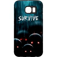 """MojePouzdro """"Zombie"""" + protective glasses for Samsung Galaxy S7"""