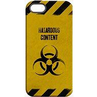 """MojePouzdro """"Na vlastní riziko"""" + ochranné sklo pro iPhone 5s/SE"""