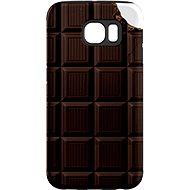 """MojePuzdro """"Čokoláda"""" + ochranná fólia na Samsung Galaxy S6 Edge"""