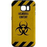"""MojePuzdro """"Na vlastné riziko"""" + ochranná fólia na Samsung Galaxy S6 Edge"""