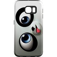 """MojePouzdro """"Vykulený"""" + ochranná fólie pro Samsung Galaxy S7 Edge - Ochranný kryt"""
