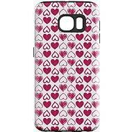 """MojePuzdro """"Srdiečka"""" + ochranná fólia na Samsung Galaxy S7 Edge"""