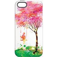 """MojePouzdro """"Strom štěstí"""" + ochranné sklo pro iPhone 5s/SE - Zadní kryt"""