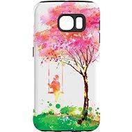 """MojePuzdro """"Strom šťastia"""" + ochranné sklo na Samsung Galaxy S6"""