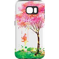 """MojePuzdro """"Strom šťastia"""" + ochranné sklo na Samsung Galaxy S7"""