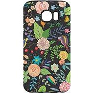 """MojePouzdro """"Noční zahrada"""" + ochranná fólie pro Samsung Galaxy S6 Edge - Ochranný kryt"""