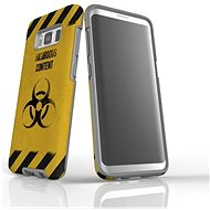"""MojePouzdro """"Na vlastní riziko"""" + ochranné sklo pro Samsung Galaxy S8 - Ochranný kryt"""
