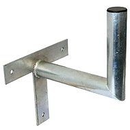 Three-point galvanized bracket, 250/200/40, 25 cm from the wall