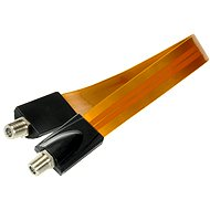 Window gland 30cm F connectors - Cable