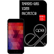 APEI Slim Round Glass Protector for iPhone 6 Black Full