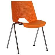 ANTARES 2130 PC Strike oranžová - Konferenční židle