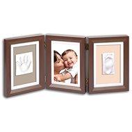 Baby art Fotorámeček Double - hnědý/béžový
