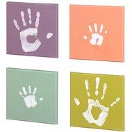 Baby-Leinwandkunst für Fingerabdruck