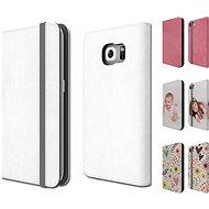 Skinzone vlastní styl Folio pro Samsung Galaxy S7/S6/S6 edge - Ochranný kryt