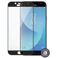 Screenshield SAMSUNG J730 Galaxy J7 (2017) Tempered Glass protection (black) na displej