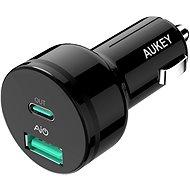 Aukey Adaptive USB-C Charge 2.0 2- Port Car Charger - Ladegerät