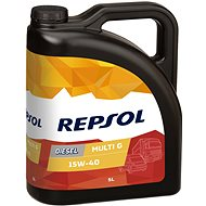 REPSOL DIESEL MULTI G 15W-40, 5 l - Öl