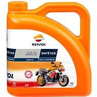 REPSOL MOTO Sintetica 4-T-10W-40 4 Liter - Öl