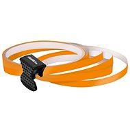 FOLIATEC - samolepící linka na obvod kola - oranžová - dekorační polepy