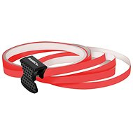 FOLIATEC - samolepící linka na obvod kola - neonově červená - dekorační polepy