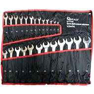 GEKO Combination wrenches, set 25pcs, 6-32mm - Set