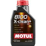 MOTUL 8100 X-CLEAN + 5W30 1L - Öl