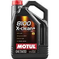 MOTUL 8100 X-CLEAN + 5W30 5L - Öl