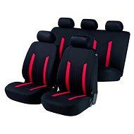 Walser Sitz deckt das gesamte Fahrzeug Hastings rot / schwarz - Autobezüge