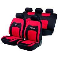 Walser Sitz deckt die gesamte RS Fahrzeug Racing Rot / Schwarz - Autobezüge