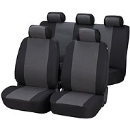 Walser seat covers on the entire Positano gray / black - Car Seat Covers