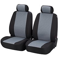 Walser seat covers for Positano gray / black front seats - Car Seat Covers
